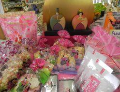 ひな祭り商品各種の画像